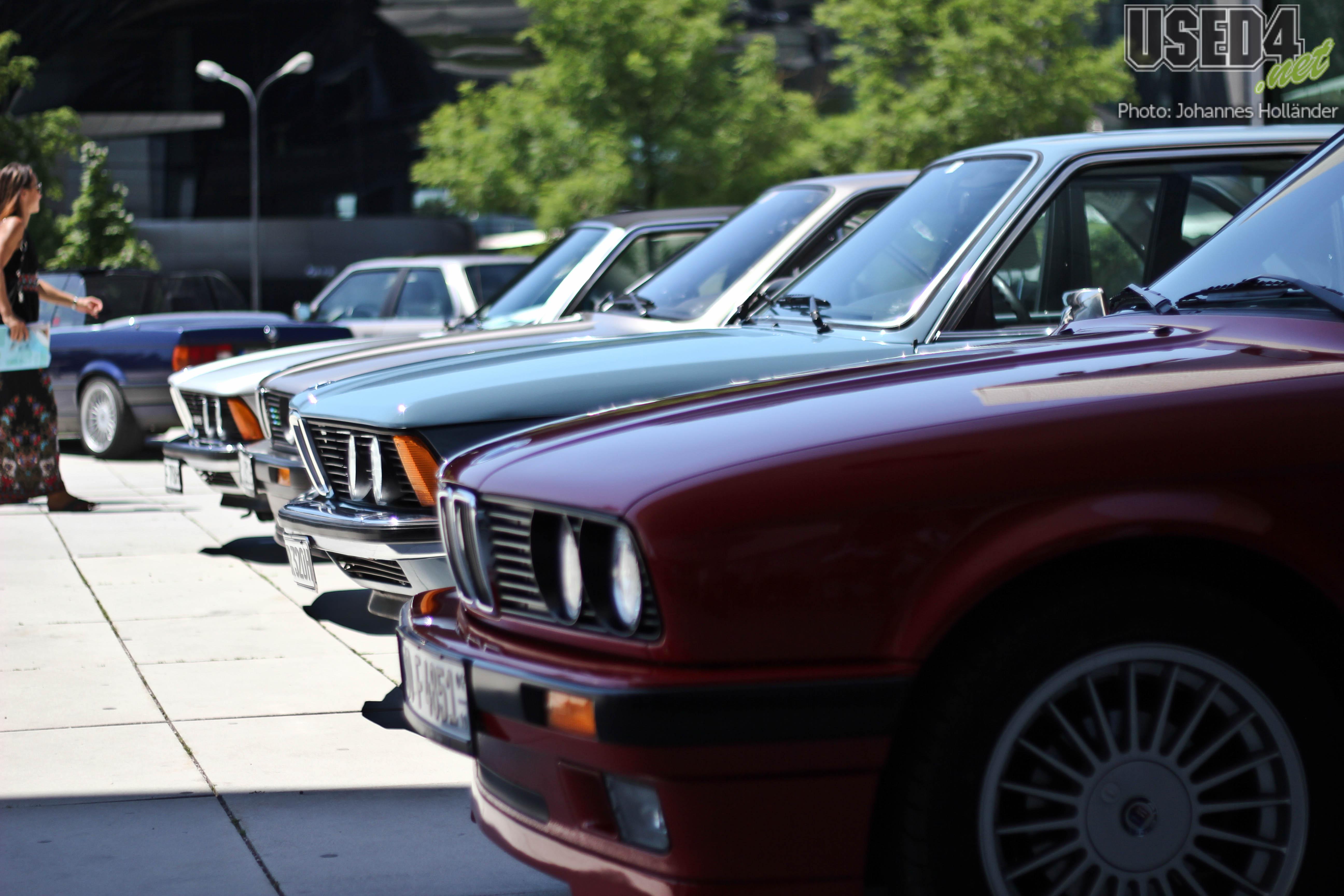 30 Jahre 3er BMW am BMW Museum München