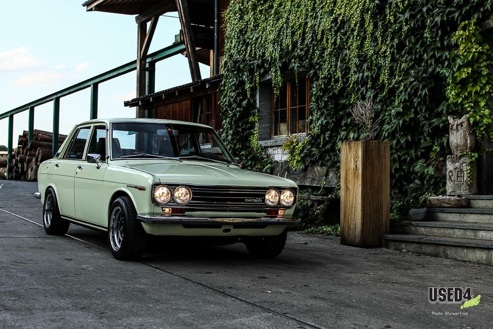 Blaue Liebe: Datsun 510 Bluebird