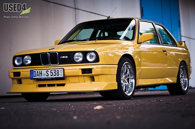 Die gelbe Gefahr: BMW M3 3.8l