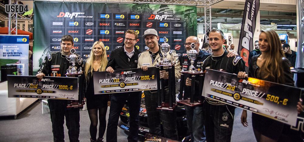 Snapshot: Siegerehrung der Drift-Champions auf der EMS