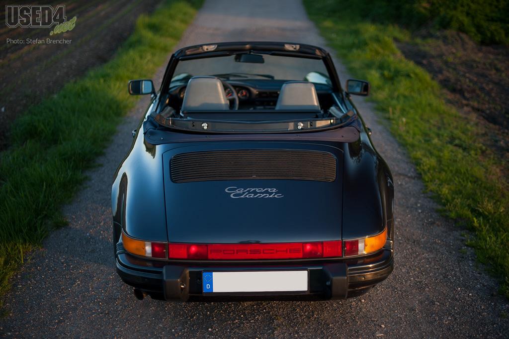 Oben ohne in den Sommer – Porsche 911 Cabrio