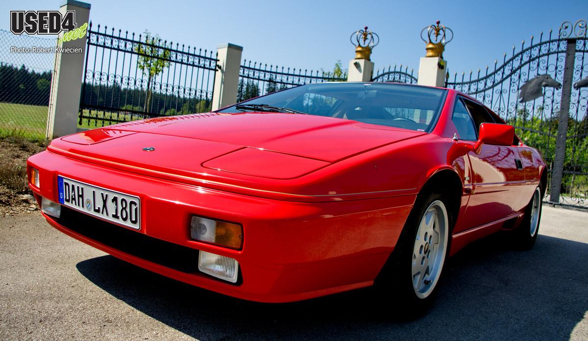 Lotus Esprit – 80er mit Stil