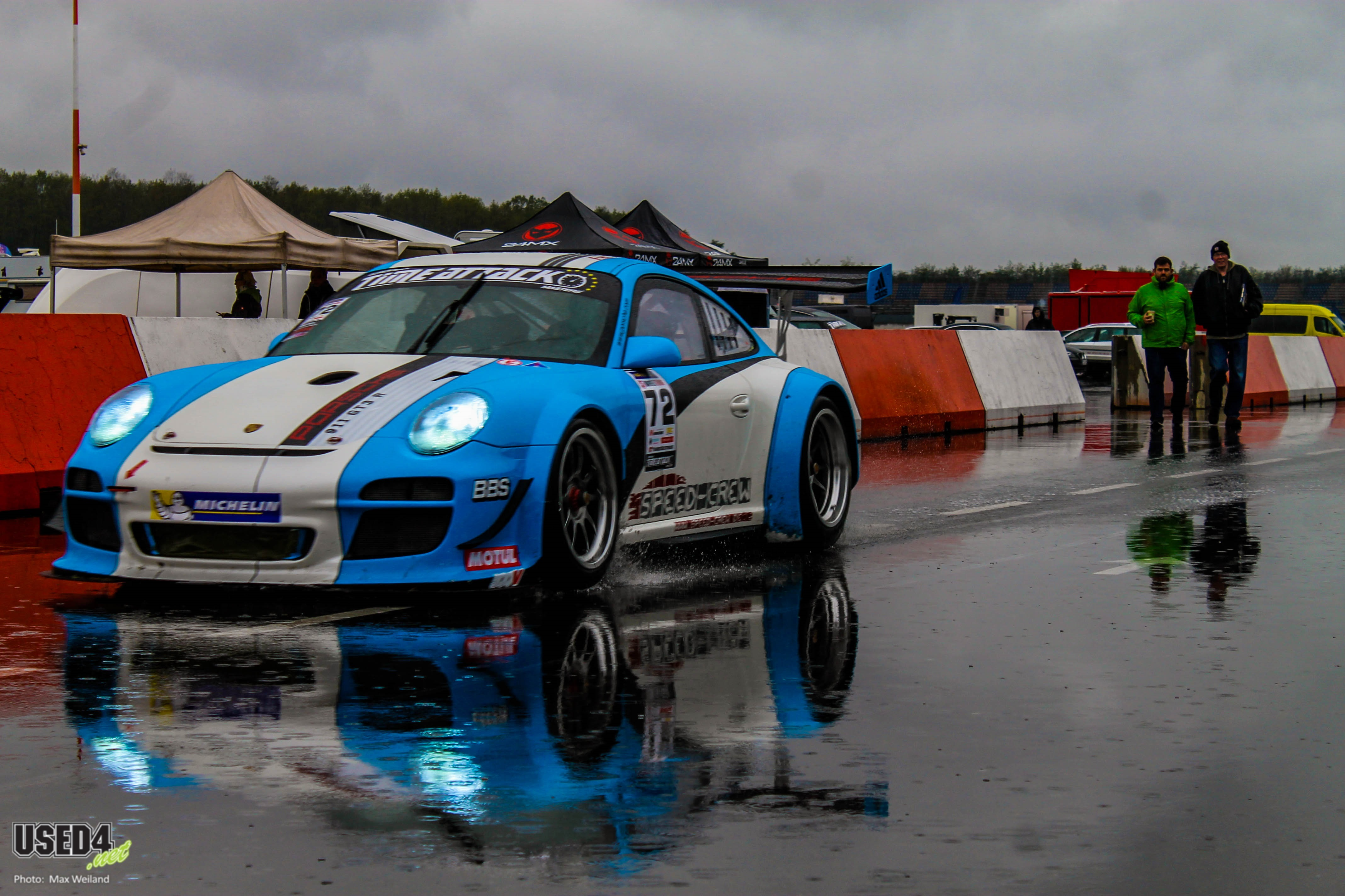 Slippery when wet – Fast Car Festival 2019