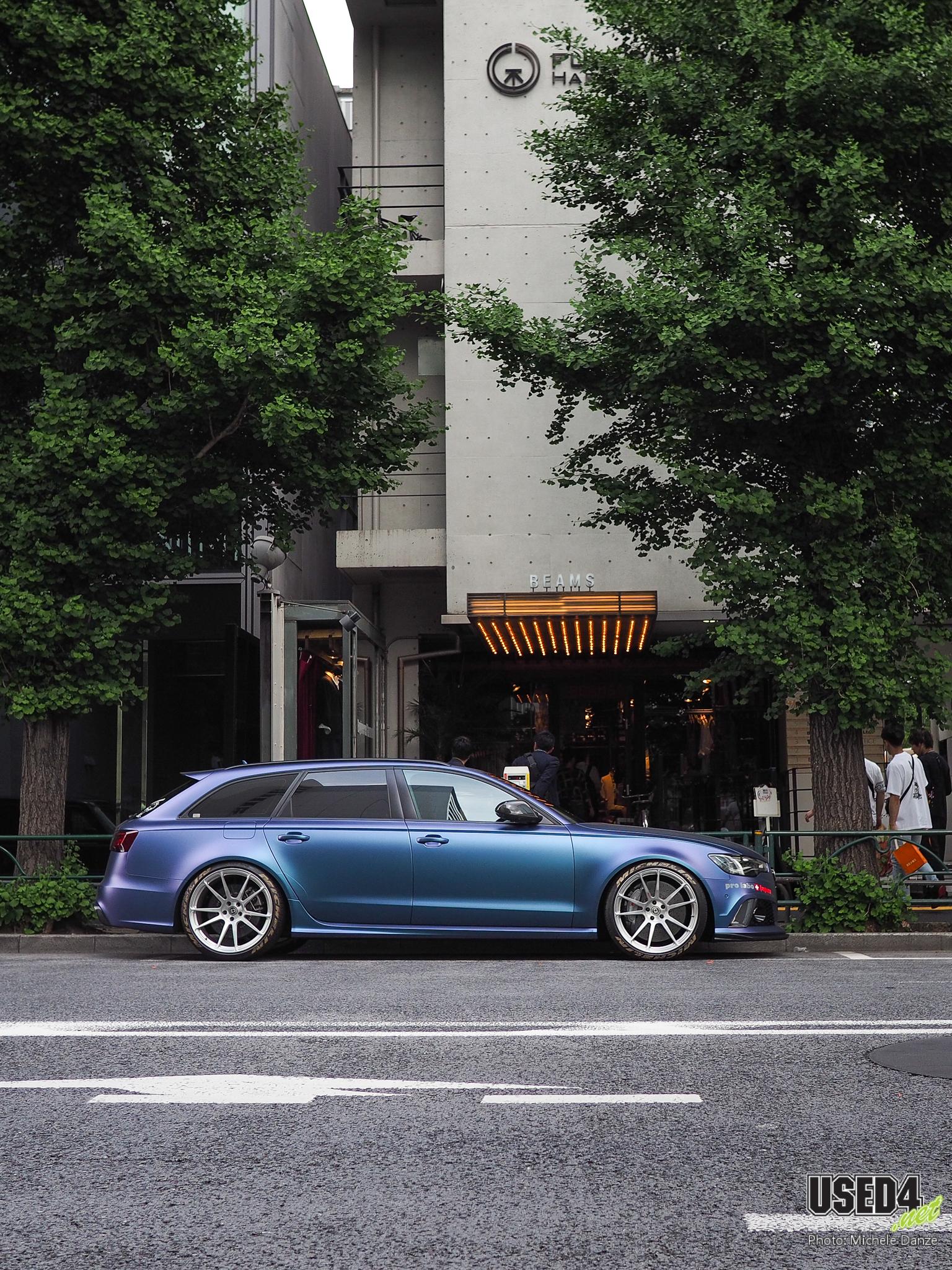 Gut eingebürgert: Audi RS6